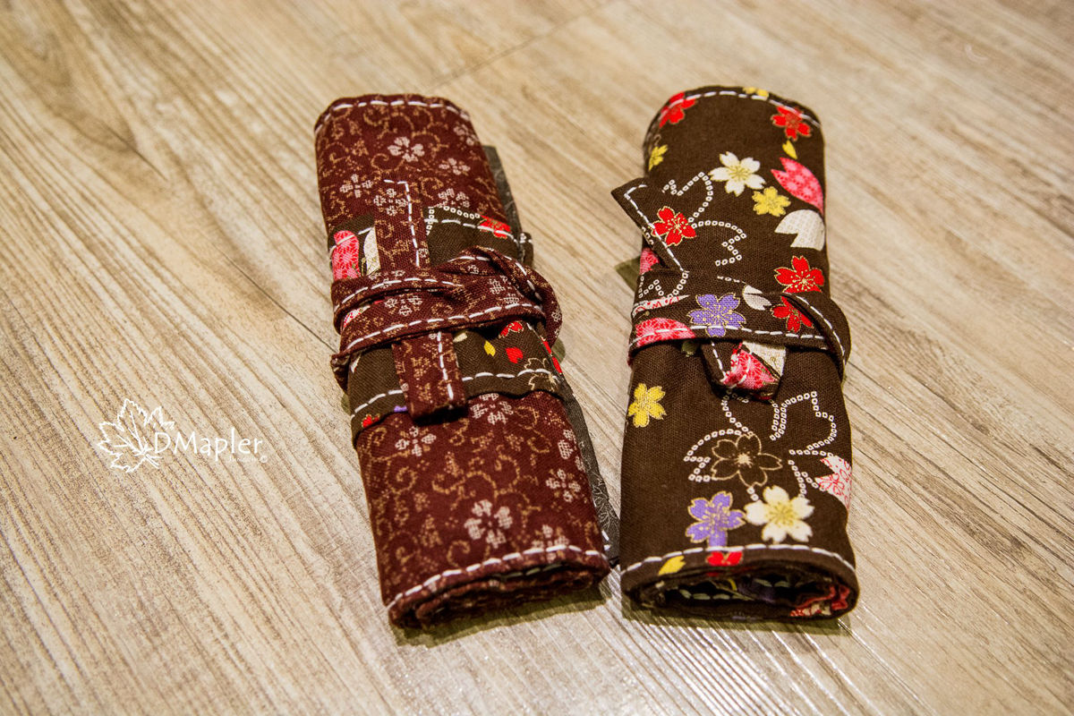 DIY|純手工捲筆袋|鋼筆的保護袋