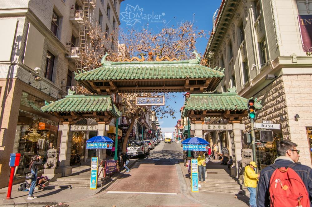 [美國] 舊金山-唐人街中國城Chinatown│亞洲外第二大華人聚集地
