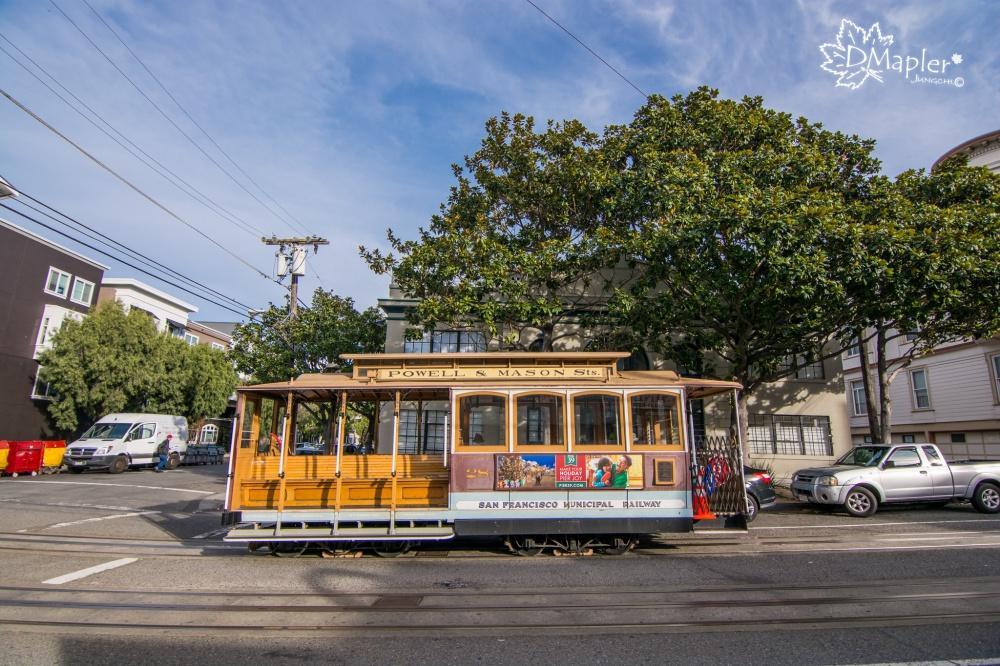 [美國] 舊金山-必搭百年歷史叮噹車與纜車博物館(cable car museum)