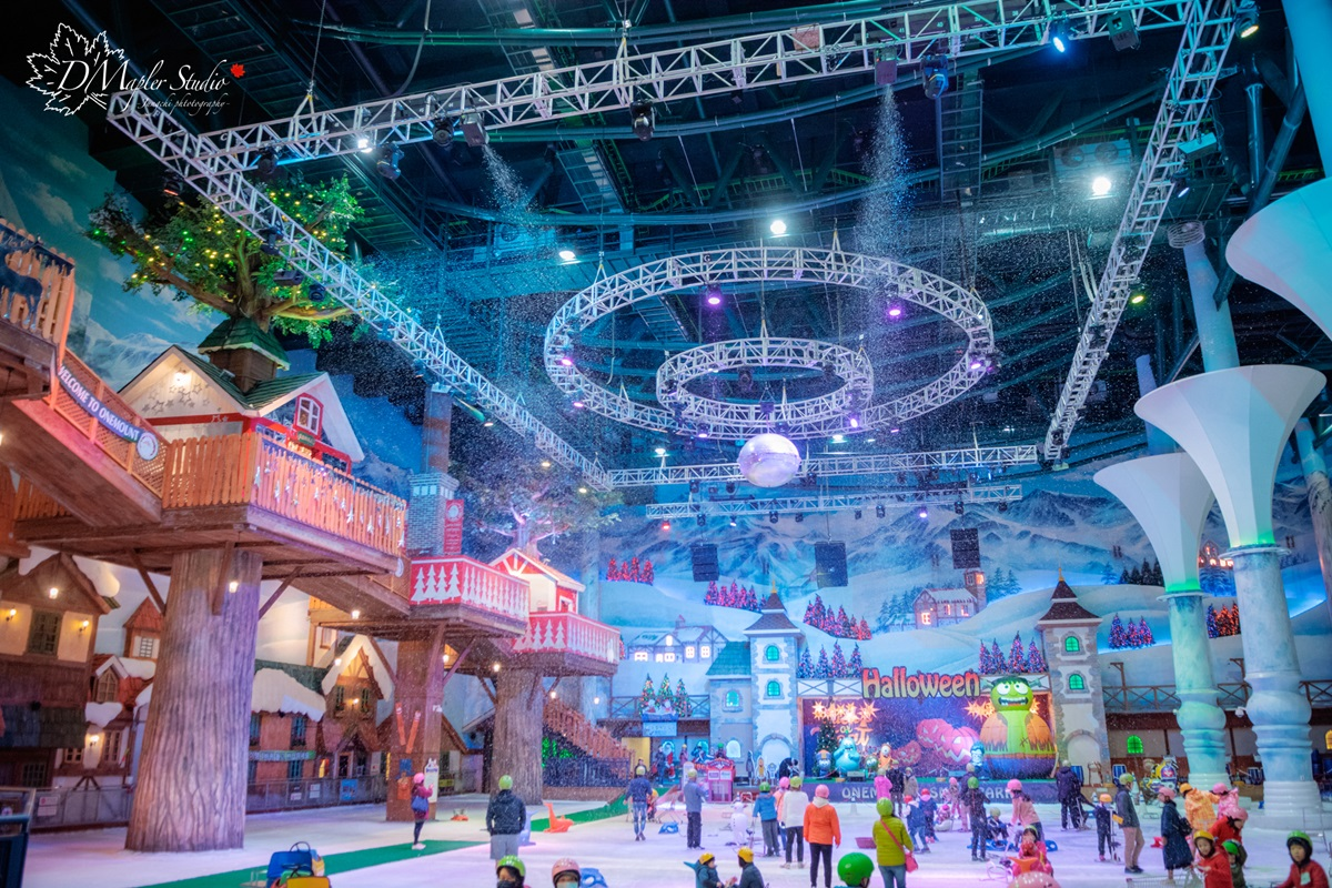 韓國首爾|ONEMOUNT冰雪樂園|一年四季都可玩的冰雪國度