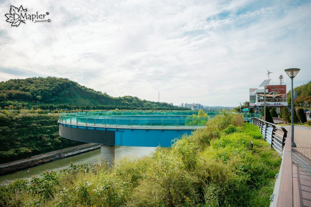 韓國仁川│阿拉廊台天空步道 ARA MARU SKYWALK ARA │韓版美國大峽谷天空步道