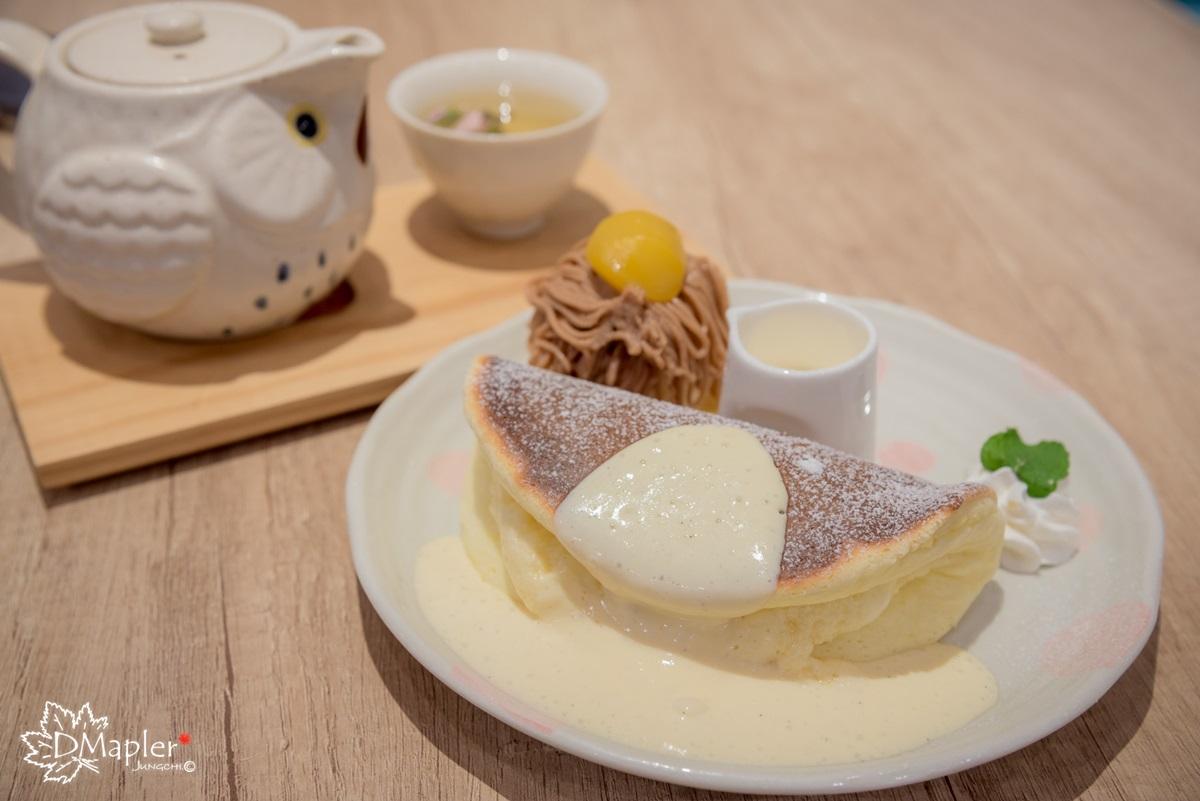高雄前鎮|Woosaパンケーキ 屋莎鬆餅屋 (高雄夢時代店)