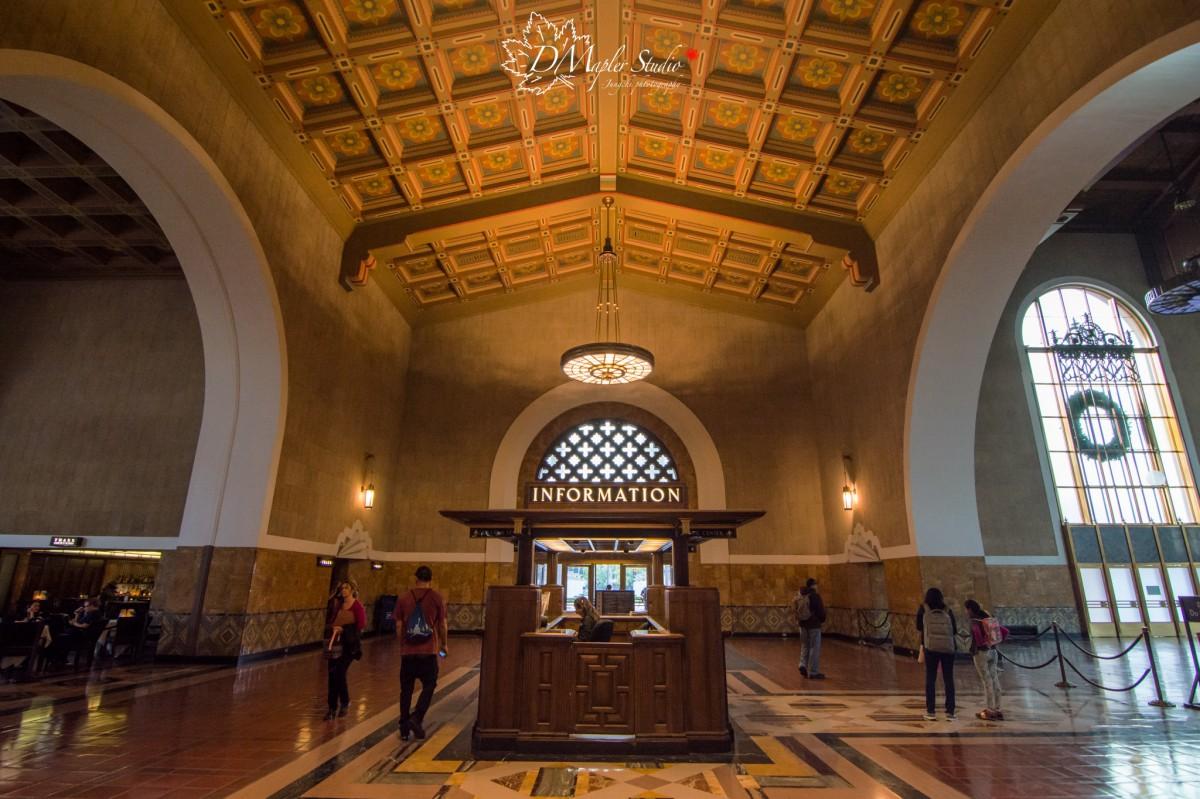 美國洛杉磯|聯合車站 Union Station|
